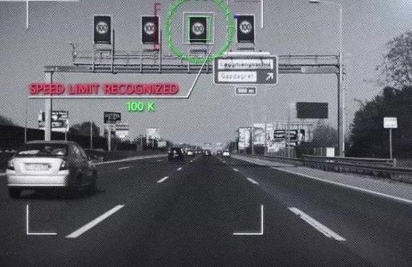 이스라엘의 자율주행 기술기업 '모빌아이'의 충돌방지 시스템이 적용된 차량 전면. 모빌아이 홈페이지