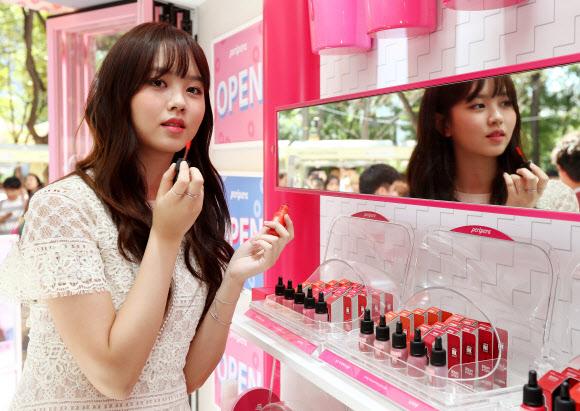 김소현, 입술이 포근해져요