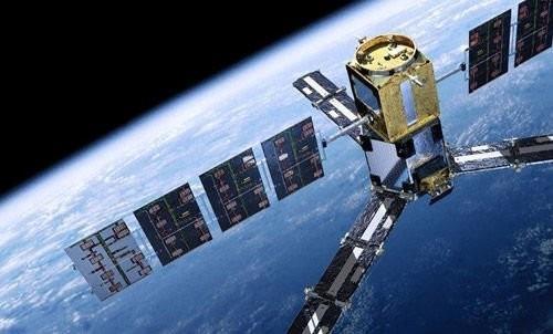 현재 가동 중인 베이더우2 위성 모습. 중국군망 캡처