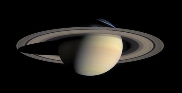 카시니호가 탐사한 토성의 모습. AP 연합뉴스