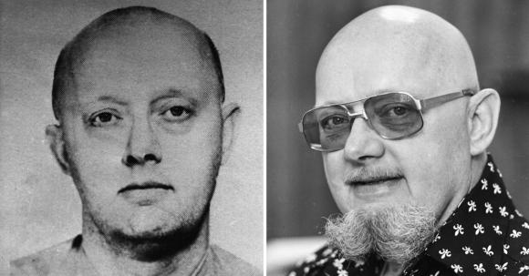 라스베이거스 총기난사범 스티븐 패덕의 아버지 벤저민 홉킨스 패덕. 왼쪽은 1960년대 FBI(연방수사국) 수배자 명단에 올랐을 때 사진이고, 오른쪽은 1977년 연쇄 은행강도로 복역 중 탈옥했을 당시 모습이다. 2017.10.3.  AP 연합뉴스