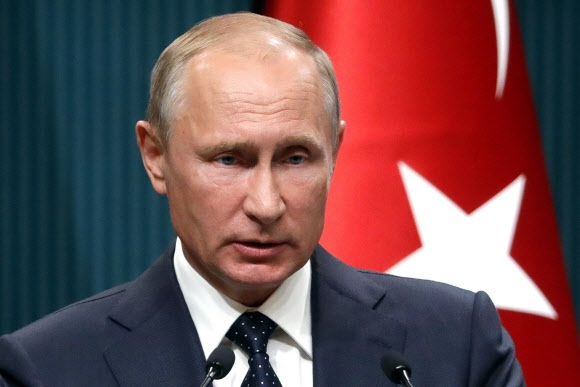 블라디미르 푸틴 러시아 대통령 연합뉴스