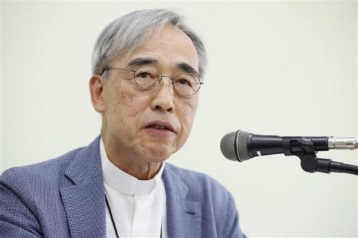 강우일 가톨릭 주교 연합뉴스