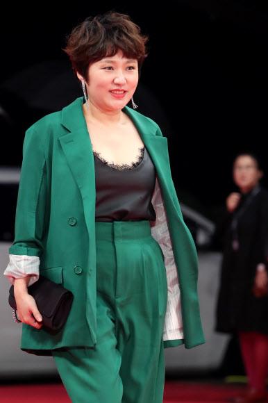 김현숙, 화려한 패션