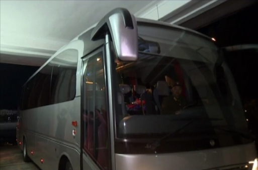 모란봉악단이 타는 최신식 버스