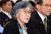 [서울포토] 답변하는 박은정 국민권익위원장
