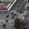[美대통령 25년 만의 국빈 방문] 反트럼프 촛불 vs 환영 태극기… 밤까지 광화문 도심서 산발 시위