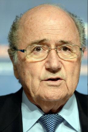 제프 블라터 전 국제축구연맹(FIFA) 회장 AFP 연합뉴스