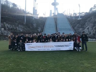 서울시와 서울시 일자리 창출의 주역인 중소기업지원기관 SBA(서울산업진흥원) 소속 크리에이터 그룹인 '크리에이티브 포스'와 국내 외국인 크리에이터 그룹인 'Youtuber's in Korea'가 평창올림픽 후원을 위한 특별한 시간을 가졌다.