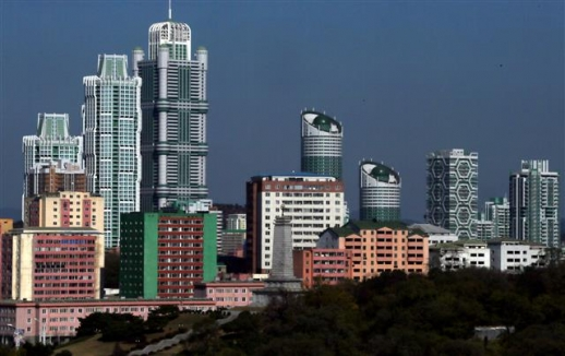 [평양은 지금] 여명거리의 고층아파트