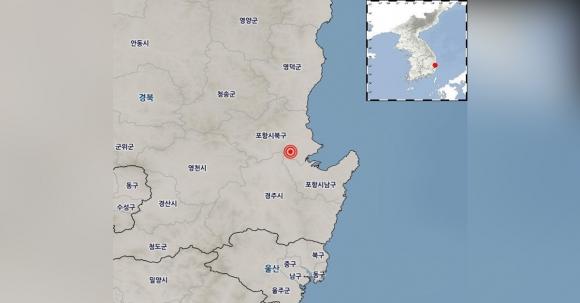 경북 포항에서 규모 5.5 지진 발생 2017.11.15