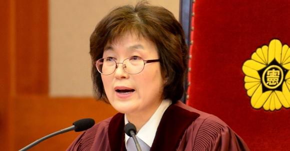 이정미 전 헌법재판관  서울신문