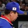 한국 야구, 일본에 0-7 완패