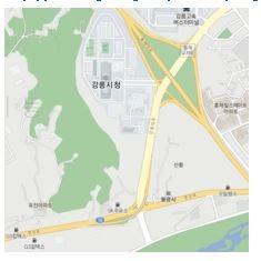 강원도의회 영문 홈페이지는 강릉 시내 지도를 한글로 실어 외국인들을 어이없게 만들고 있다.