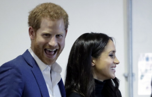英해리 왕자-마클, 결혼 발표 후 첫 공식 석상