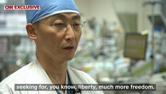 CNN 이국종 교수 인터뷰