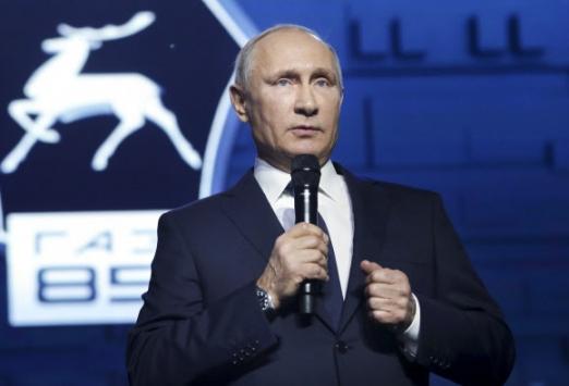 블라디미르 푸틴 러시아 대통령 AP 연합뉴스