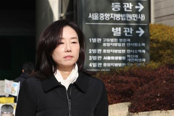 조윤선 전 장관 '항소심 마치고'