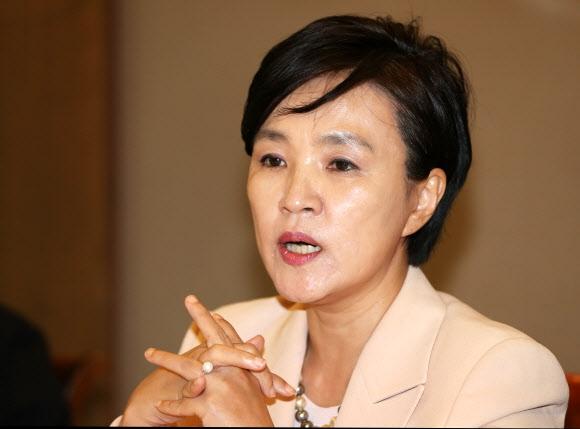 강금실 전 법무부 장관. 연합뉴스