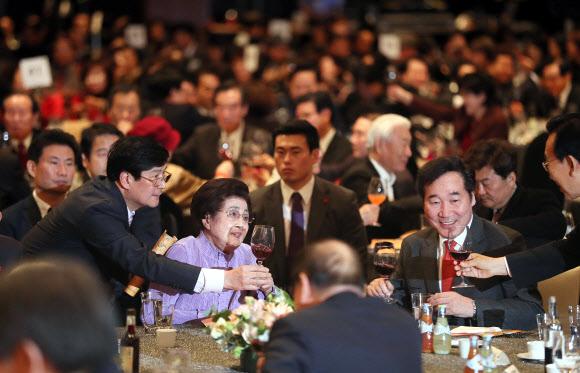 김대중 노벨평화상 수상 17주년 기념식