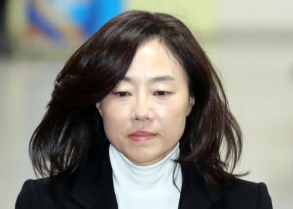 조윤선 전 문화체육관광부 장관. 연합뉴스