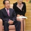 아베, 홍준표에 '낮은' 의자 줬다…유엔 총장에겐 '같은' 의자
