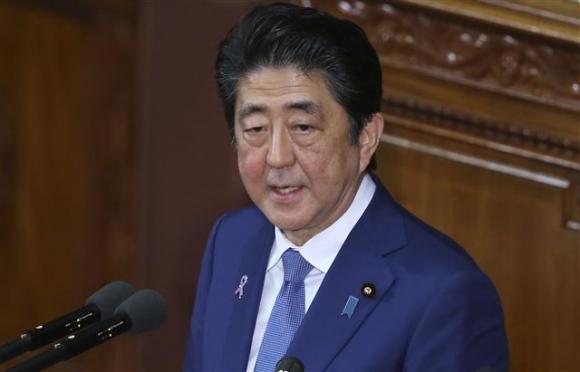 아베 신조 일본 총리. AP 연합뉴스