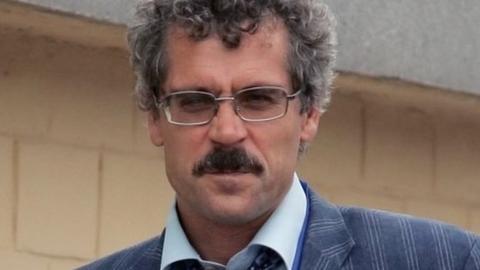 26일(현지시간) 법률대리인이 러시아 축구의 조직적인 도핑 증거를 갖고 있다고 주장한 그리고리 로드첸코프. BBC 홈페이지 캡처