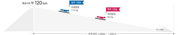 스켈레톤. 자료:평창올림픽조직위원회