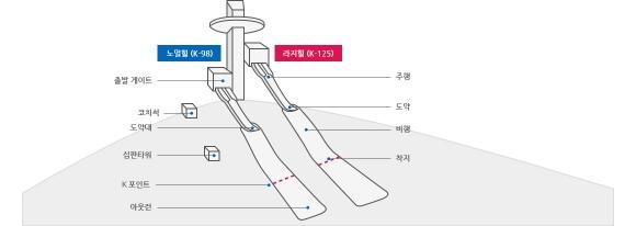 스키점프. 자료:평창올림픽조직위원회