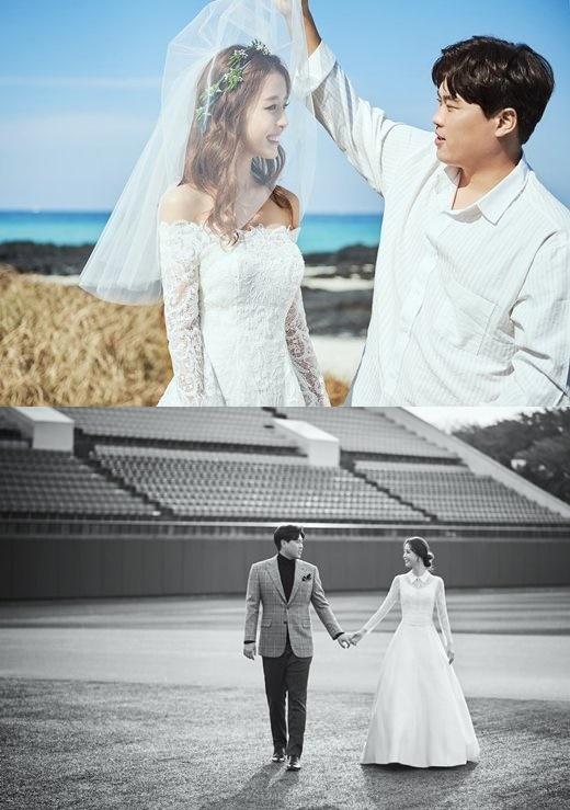 류현진 배지현 웨딩화보