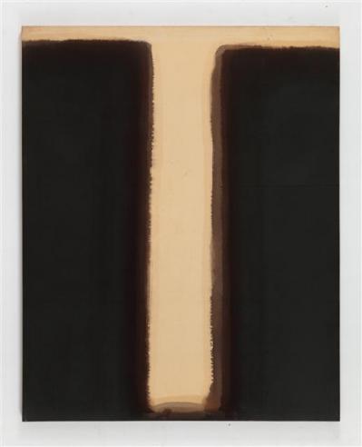 윤형근, Umber-Blue(1976~1977년 작).