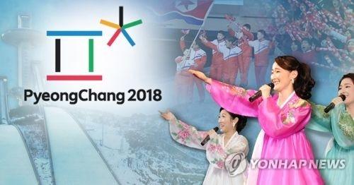 북한, 선수단ㆍ응원단ㆍ예술단 등 평창동계올림픽 파견(PG) [제작 이태호] 사진합성 연합뉴스