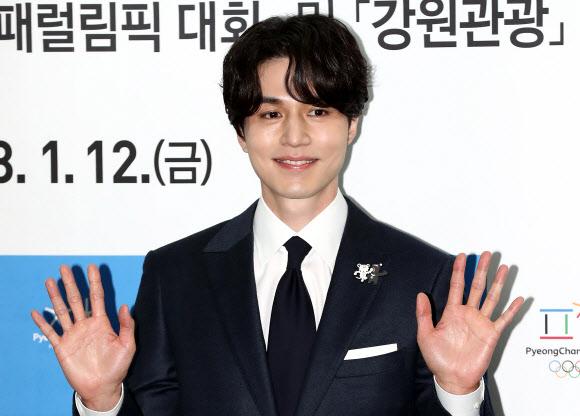 평창 동계올림픽 홍보대사 이동욱