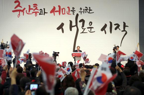 한국당 경남지역 신년인사