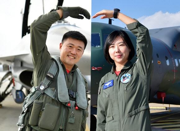 김동우(왼쪽)·이인성 소령 연합뉴스
