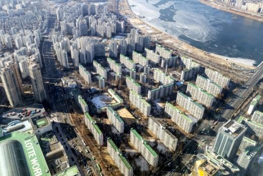 송파구 아파트 단지 모습. 연합뉴스 자료사진