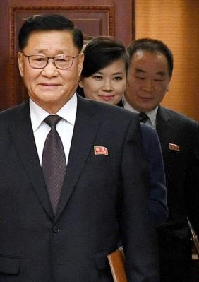 북한 예술단 파견 실무접촉 참석한 현송월