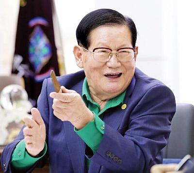 이만희 신천지예수교회 총회장