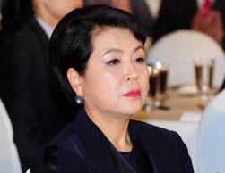 이명박(MB) 전 대통령의 부인 김윤옥 여사