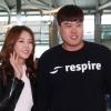 LA다저스 류현진, 여섯 번째 시즌 준비 차 LA행...배지현 동반 출국 포착