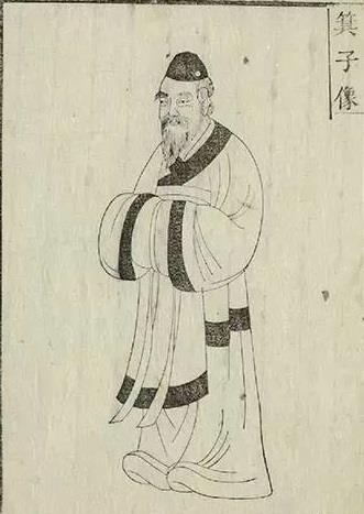 윤두수가 선조 13년(1580) 편찬한 '기자지'에 실린 기자 그림이다. 윤두수는 명나라 사신으로 갔다가 기자에 대한 질문에 명쾌한 답을 하지 못하고 돌아와 이 책을 편찬했다.