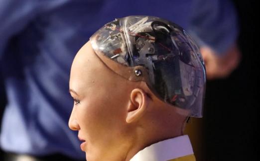 인공지능 로봇 '소피아'의 머릿속