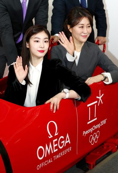 [올림픽] 봅슬레이 탑승한 김연아