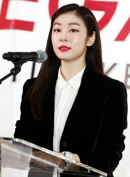 [올림픽] 인사말하는 김연아