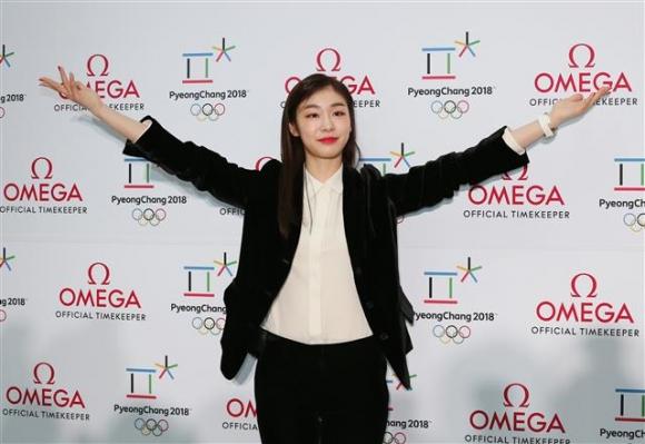 김연아, 평창동계올림픽 함께 응원해요!