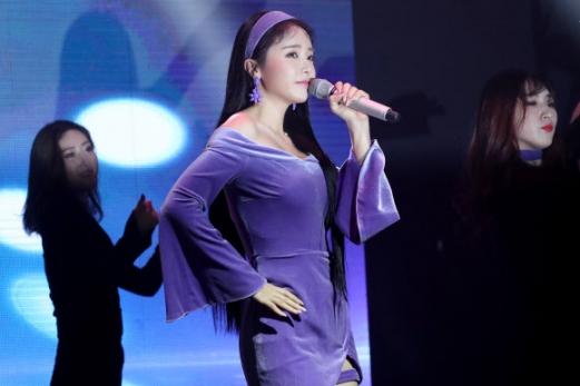 홍진영, 역대급 트로트
