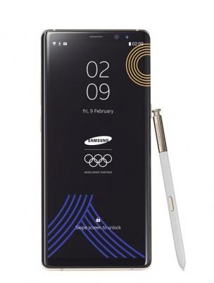 '갤럭시노트8 올림픽 에디션'