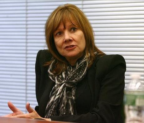 메리 바라 미국 제너럴모터스(GM) 최고경영자(CEO)