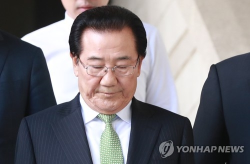 박준영 민주평화당 전 의원. 연합뉴스